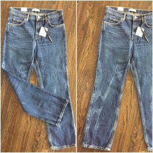 NWT ZARA High Waist Vintage Denim Regular Fit Jean